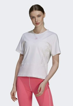 adidas by Stella McCartney - T-Shirt print - white