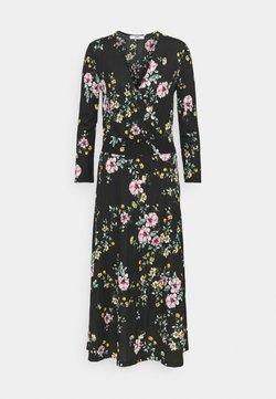 ONLY Tall - ONLZILLE FIXED SMOCK DRESS - Freizeitkleid - black