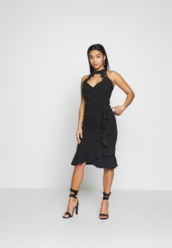 SISTA GLAM PETITE - LEESHA - Cocktailkleid/festliches Kleid - black