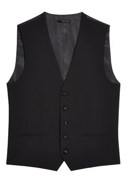 Next - SIGNATURE PLAIN SUIT: WAISTCOAT - Gilet elegante - black