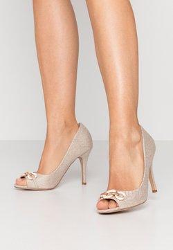Wallis - CHURCH - Peeptoe heels - beige