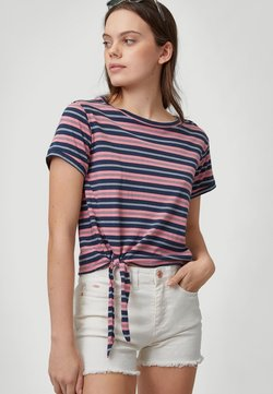 O'Neill - KNOTTED  - T-Shirt print - pink with blue