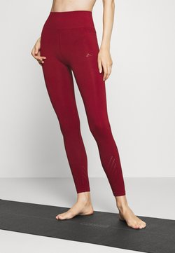 ONLY Play - ONPJAVO CIRCULAR TIGHTS - Leggings - sun dried tomato