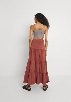 ONLY - ONLMAY LIFE SKIRT - Jupe longue - arabian spice