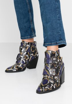 Madden Girl - CALISTA - Ankle boots - blue/multicolor