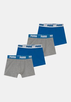 Puma - BOYS BASIC 4 PACK - Shorty - blue/grey