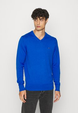 Tommy Hilfiger - Strickpullover - pioneer blue heather