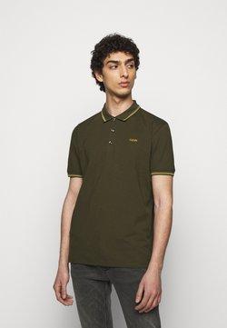HUGO - DINOSO - Polo shirt - dark green