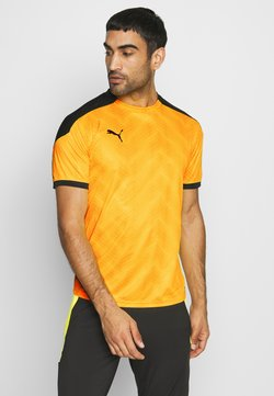 Puma - GRAPHIC  - Printtipaita - ultra yellow/black