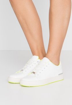 DKNY - BINDA LACE UP - Sneakers laag - white