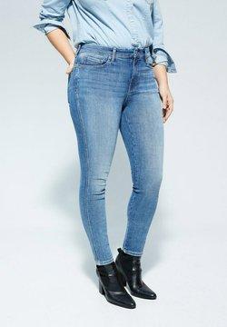 Violeta by Mango - IRENE - Jeans Slim Fit - mittelblau
