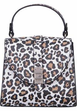 Guess - NEREA TOP HANDLE FLAP - Handtasche - leopard