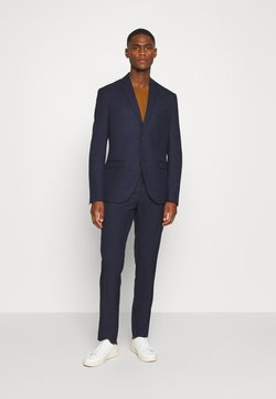 Isaac Dewhirst - CHECK SUIT - Costume - dark blue