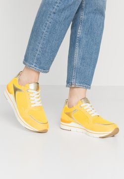 LOVE OUR PLANET by MARCO TOZZI - Sneaker low - yellow