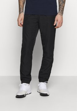 Lacoste Sport - TENNIS PANT TAPERED - Jogginghose - black/white