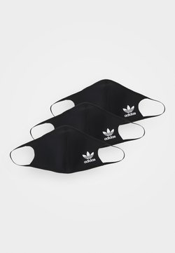 adidas Originals - FACE 3 PACK UNISEX - Stoffen mondkapje - black/white