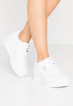 Puma - CALI WEDGE  - Sneakers - white
