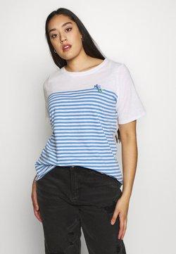 MY TRUE ME TOM TAILOR - T-Shirt print - whisper white/white