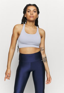 NU-IN - CUT OUT BACK SEAMLESS SPORTS BRA - Sujetador deportivo - light blue