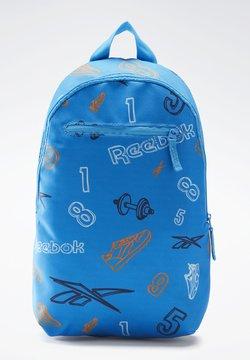 Reebok - SMALL AOP BP - Reppu - blue