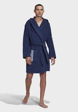 adidas Performance - U PREMIUM SWIM COTTON BATHROBE - Dressing gown - tech indigo