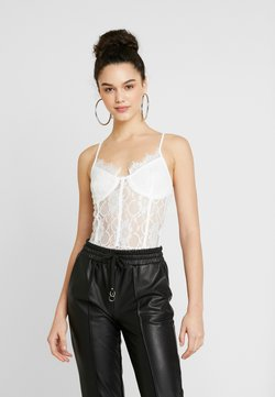 Missguided - STRAPPY - Body - white