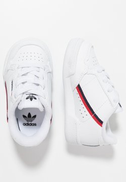 adidas Originals - CONTINENTAL 80 - Babyschoenen - footwear white/scarlet/collegiate navy
