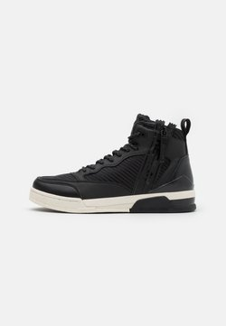 Replay - MISSION - Sneaker high - black/white