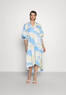 Diane von Furstenberg - HEATHER DRESS - Maxikleid - cloud/sky blue