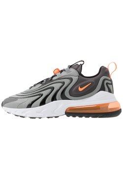 Nike Sportswear - AIR MAX 270 REACT - Sneakersy niskie - iron grey/total orange/particle grey/black/white