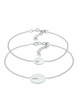 Elli - HERZ MUTTER KIND SET - Armband - silber