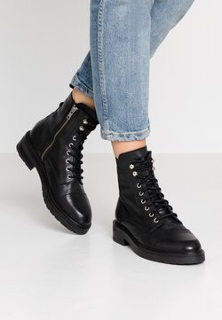 Pavement - CHARLEY - Botines con cordones - black