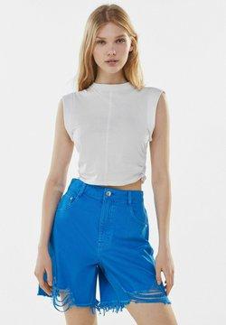 Bershka - Short en jean - blue