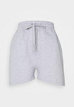 Missguided - OVERSIZED LONG LINE - Jogginghose - grey marl