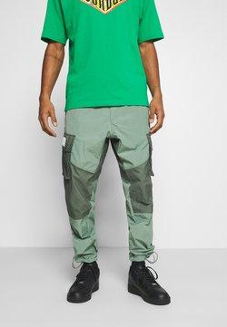 Jordan - PANT - Trousers - spiral sage/white