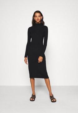 EDITED - HADA DRESS - Vestido de punto - black