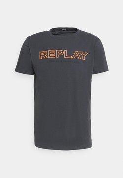 Replay - T-shirt print - smoke grey
