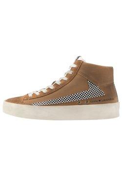 Guess - FIRENZE MID - Sneaker high - cognac