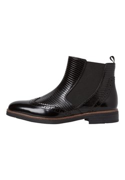 Marco Tozzi - CHELSEA BOOT - Ankle Boot - black liz.comb