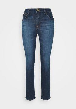 J Brand - HIGH RISE CROP CIGARETTE - Jeans Straight Leg - arcade