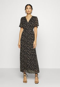 Vero Moda - VMWONDA WRAP DRESS  - Maxikjoler - black