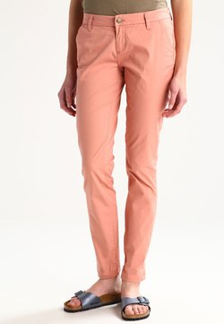 ONLY - ONLPARIS LOW PANTS - Chinot - rose dawn