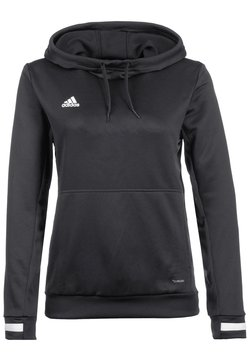 adidas Performance - TEAM 19  - Kapuzenpullover - black/white