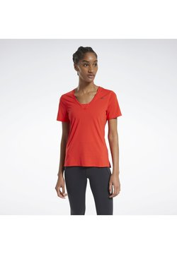 Reebok - T-Shirt print - red