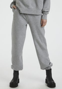 Gestuz - Trainingsbroek - light grey melange