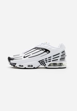 Nike Sportswear - AIR MAX PLUS III UNISEX - Sneaker low - white/black/chile red
