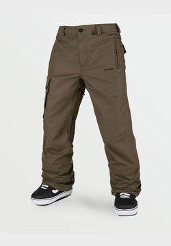 Volcom - HUNTER PANT - Pantalón de nieve - dark_teak