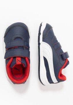 Puma - STEPFLEEX 2 UNISEX - Chaussures d'entraînement et de fitness - peacoat/white/flame scarlet
