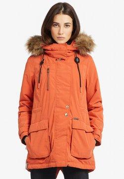 khujo - PONIA - Wintermantel - orange