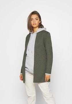 ONLY - ONLSOHO COATIGAN  - Halflange jas - dark green
